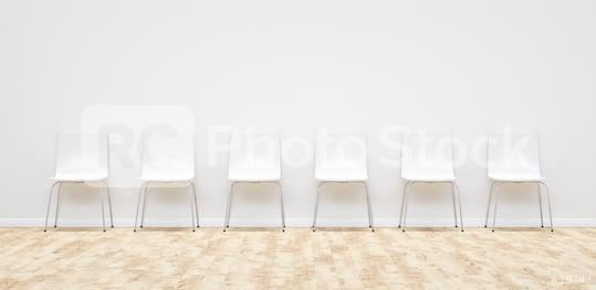 white chairs in a doctor waiting room, including Copy space - 3D Rendering  : Stock Photo or Stock Video Download rcfotostock photos, images and assets rcfotostock | RC-Photo-Stock.: