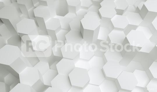 white hexagons background pattern, gaming Concept image - 3D rendering - Illustration   : Stock Photo or Stock Video Download rcfotostock photos, images and assets rcfotostock | RC-Photo-Stock.: