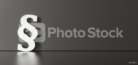white paragraph sign on black background with empty space on left side. 3D Rendering  : Stock Photo or Stock Video Download rcfotostock photos, images and assets rcfotostock | RC-Photo-Stock.: