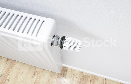 White radiator in an apartment - 3D Rendering  : Stock Photo or Stock Video Download rcfotostock photos, images and assets rcfotostock | RC-Photo-Stock.: