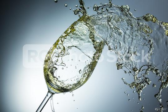 White wine splash in a glass  : Stock Photo or Stock Video Download rcfotostock photos, images and assets rcfotostock | RC-Photo-Stock.: