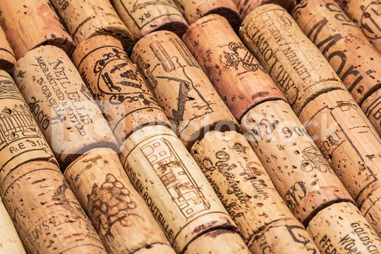 wine corks in lines  : Stock Photo or Stock Video Download rcfotostock photos, images and assets rcfotostock   RC-Photo-Stock.: