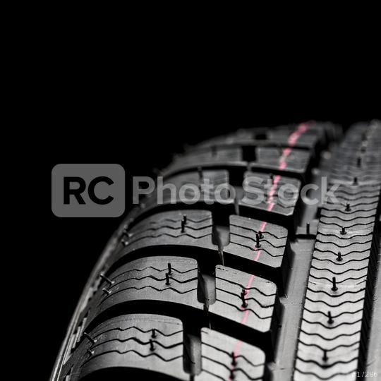 Winter Car tires close-up wheel profile structure on black background  : Stock Photo or Stock Video Download rcfotostock photos, images and assets rcfotostock   RC-Photo-Stock.: