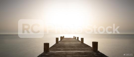 Wooden path with ocean view at sunset summer evening   : Stock Photo or Stock Video Download rcfotostock photos, images and assets rcfotostock | RC-Photo-Stock.: