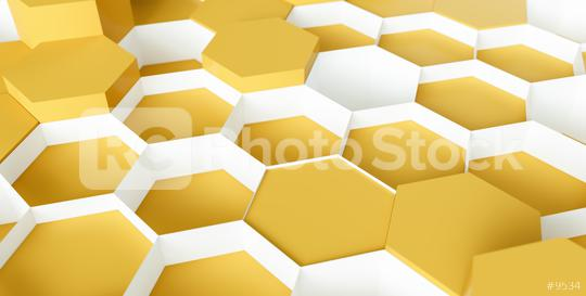 yellow Hexagon Background - 3D rendering - Illustration   : Stock Photo or Stock Video Download rcfotostock photos, images and assets rcfotostock | RC-Photo-Stock.: