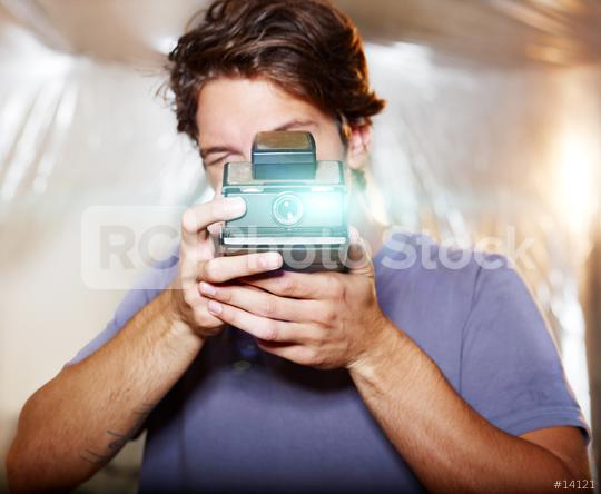 Young handsome photographer  : Stock Photo or Stock Video Download rcfotostock photos, images and assets rcfotostock | RC-Photo-Stock.: